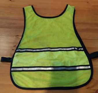 Libby - SLS High Vis Vest Back